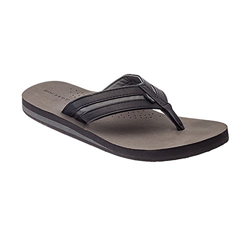 Dockers Mens 'Coast' Thong Sandals with Arch Support (X-Large (12-13 US), - Thongs Coast