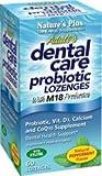 Nature's Plus Adult's Dental Care Probiotic Lozenges Peppermint -- 60 Lozenges