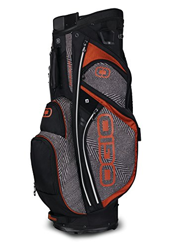 OGIO 2018 Silencer Cart Bag, Cayenne Crosswalk