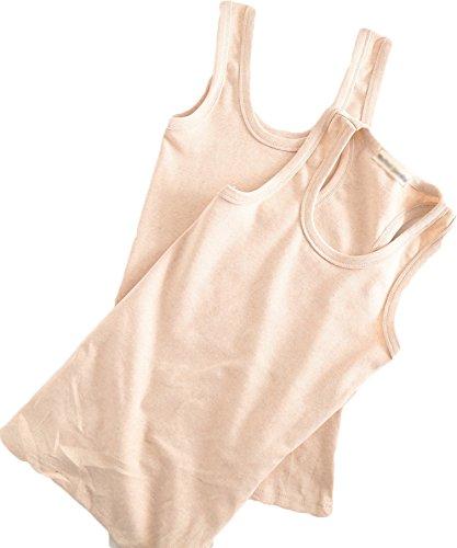 Nanxson(TM) Women's Cotton U-shape Tank Top Camis Basic Camisole NYW0040 (beige)