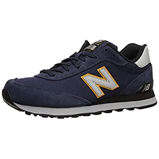 New Balance Men's 515 V1 Sneaker, Nb Navy/Light Aluminum, 7 XW US