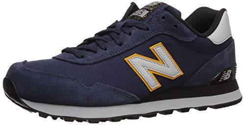 new balance Men's 515v1 Sneaker, NB Navy/Light Aluminum, 9 XW US