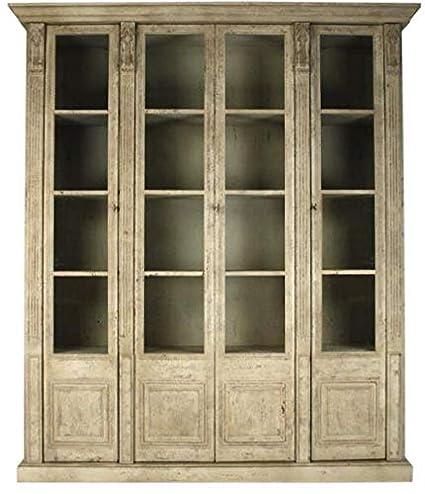Amazon.com   EuroLux Home Display Cabinet Peter Plywood Pine ...