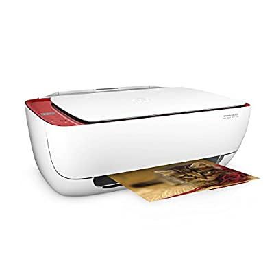 HP DeskJet 3636 Limited Edition Printer/Copier/Scanner Red