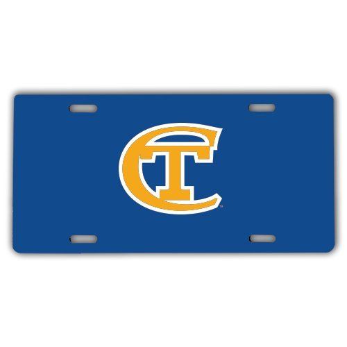 City Tech License Plate 'Official Logo' by CollegeFanGear