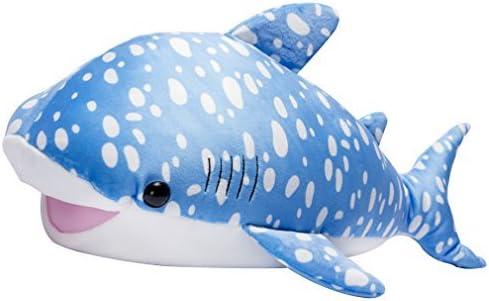 LALA HOME Large Great White Shark Stuffed Animal Giant Hugging Plush Soft Pillow Ocean Toy 22 Inch//56 Centimeter