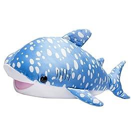 Blue Whale Shark Plush | Kawaii Pillows – 22 Inches 8