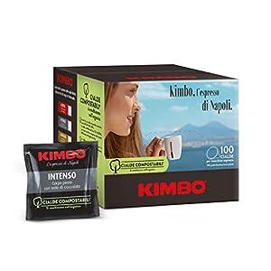 Kimbo Cialde Compostabili Intenso - 100 Cialde