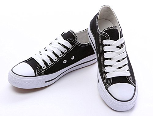 Sports Cut Fashion Shoes Lace Men Black Shoes Casual Sneaker and for Women Amint Low Canvas Ups Unisex Trainers g4qxXzg5n