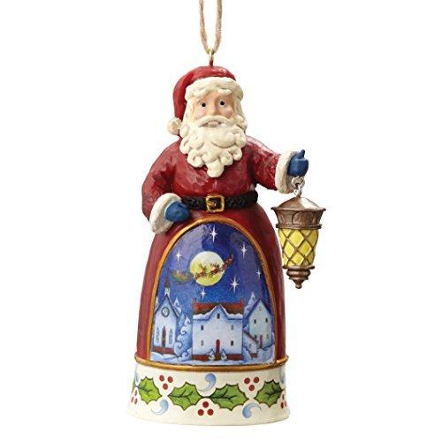 Heartwood Creek Santa with Lantern - Hanging Ornament by Heartwood Creek