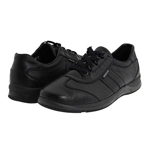 Negro Laser Leather Softy Womens Mephisto Shoes awqXn1