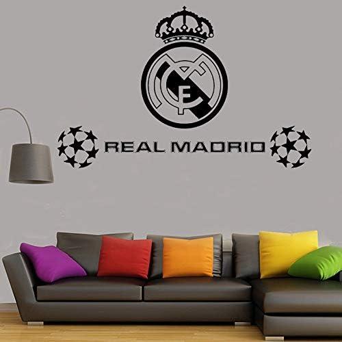 Balón de fútbol Football Club Real Madrid Logo Sticker Vinilo ...