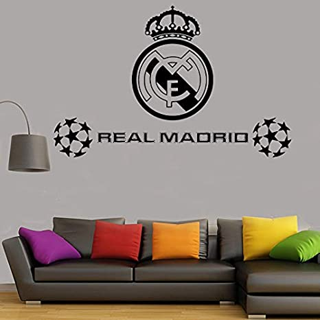 Balón de fútbol Football Club Real Madrid Logo Sticker Vinilo ...