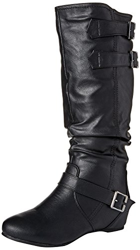 Slouch Boot Womens Calf Black Regular Brinley Wide amp; Cammie Co x4Wp7
