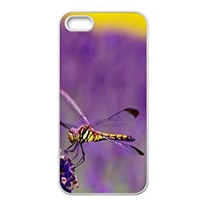 Beautiful Dragonfly Customized Cover Case for Iphone 5,5S,custom phone case ygtg-309572