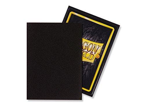Dragon Shield Matte Black Standard Size Card Sleeves Display Box [10 packs] by Dragon Shield (Image #2)