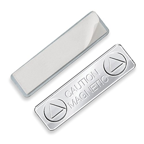 Super Strong Magnetic ID Badge Holder Name Tag Backing Attachment with Adhesive By Specialist ID (1 Sold Individually)
