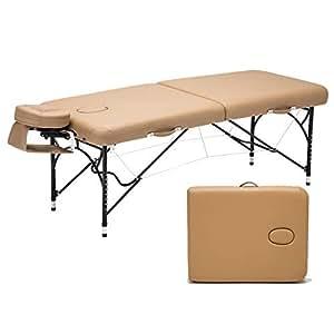 Amazon.com: Cama de masaje LJHA, cama plegable portátil para ...