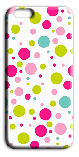 Mixroom - Cover Custodia Case In TPU Silicone Morbida Per Apple Iphone 6 6s Q254 Pois colorati