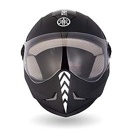 Yamaha Genex Full Face Helmet (Black, L)