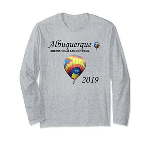 Albuquerque Hot Air Balloon Fiesta 2019 Festival Long Sleeve T-Shirt