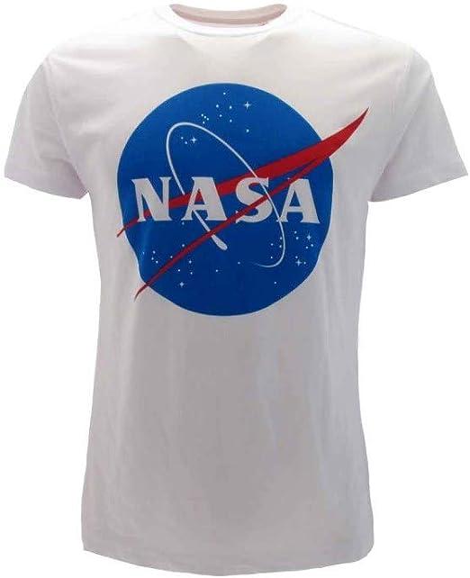 Nasa - Camiseta original National Aeronautics And Space Administration: Amazon.es: Ropa y accesorios