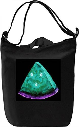 Watermelon Borsa Giornaliera Canvas Canvas Day Bag| 100% Premium Cotton Canvas| DTG Printing|