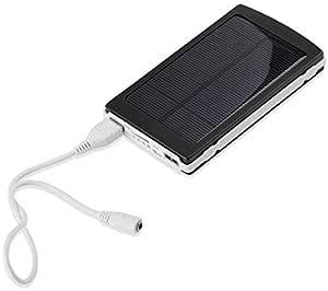 30000mAh Solar Power Panel Power Bank Dual USB External Battery Charger for iPad 2 3 4 Tab