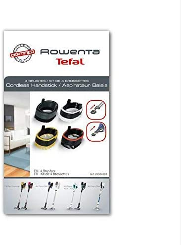 Rowenta - Kit de 4 cepillos para aspiradora Air Force Essential ...