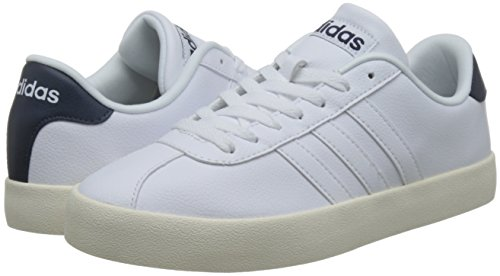 Vulc Adidas Hommes Weiss 100 Chaussures Vlcourt fBUqwTF