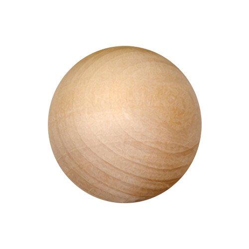 - 25 Unfinished Wood Round Balls 5/8 Inch Diameter, by My Craft Supplies