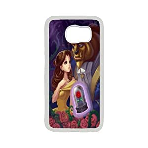 FOR Samsung Galaxy S6 -(DXJ PHONE CASE)-Beauty And The Beast-PATTERN 8