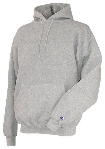 Champion Men's Front Pocket Pullover Hoodie Sweatshirt, Medium, Light (Champion Lined Sweatshirt)