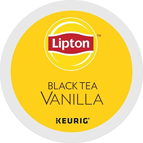 Lipton Indulge Black Tea K-Cups - Vanilla - 24 ct