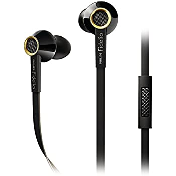 Philips Fidelio S2BK/28 In-Ear Headsets Earbuds - Black (Discontinued  by Manufacturer)