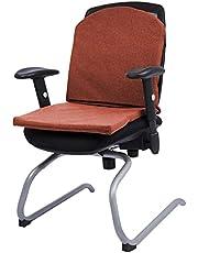 وسادة كرسي على شكل بطريق- أحمر داكن