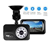 Car Camera Dash Camera for Cars - 3'' 1296P 170°Wide Angle Dash Cam by Aiworth Built-in G-Sensor,Night Vision,ADAS System,Forward Collision Warning,Parking Notice,Loop Recording Dashboard Drive Record