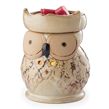 Candle Warmers Illumination Candle Warmer, Owl