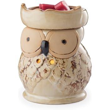 Candle Warmers Etc. Illumination Fragrance Warmer, Owl