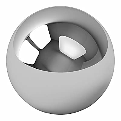 "Five 1-1/16"" Inch Mirror Finish Carbon Steel Replacement Pinball Machine Balls"
