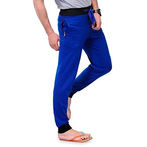 Tsx Men's Trackpant (TSX-PYJAMA-RIB-ROYAL-M_Medium_Blue)