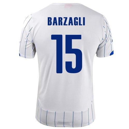 多くの危険がある状況やりすぎ羊の服を着た狼PUMA BARZAGLI #15 ITALY AWAY JERSEY WORLD CUP 2014/サッカーユニフォーム イタリア代表 レプリカ?アウェイ用 ワールドカップ2014 背番号15 バルザーリ