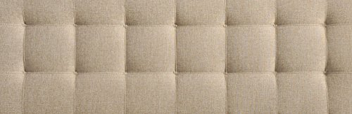 Modway Lily Upholstered Tufted Linen Fabric Queen Headboard Size In Beige by Modway (Image #5)