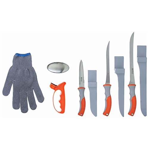 Wild Fish 6 Piece Fish Fillet Set, Multipurpose Set Ideal for Cleaning Fish and Many Other Kitchen Tasks