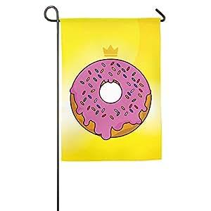 jfd King Donut Suger interior bandera
