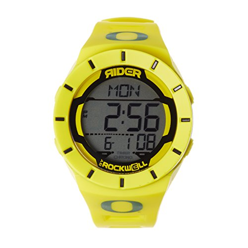 Rockwell NCAA Oregon Ducks Men's Coliseum Watch, Adjustable, Yellow (Watches College Ducks Oregon)