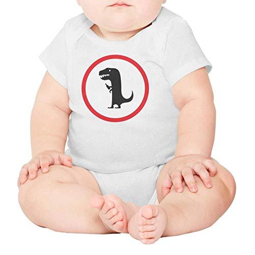 PPLOPO Mr Dinosaur Baby Gift Short Sleeve Infant Bodysuit -
