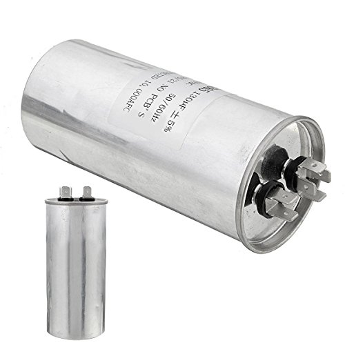 CBB65A Air Motor Running Conditioning Starting Capacitor 250V AC 130uF - P Brands With Starting