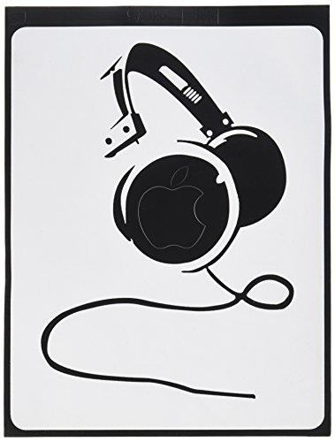 Furivy Headphones Vinyl Sticker Macbook product image