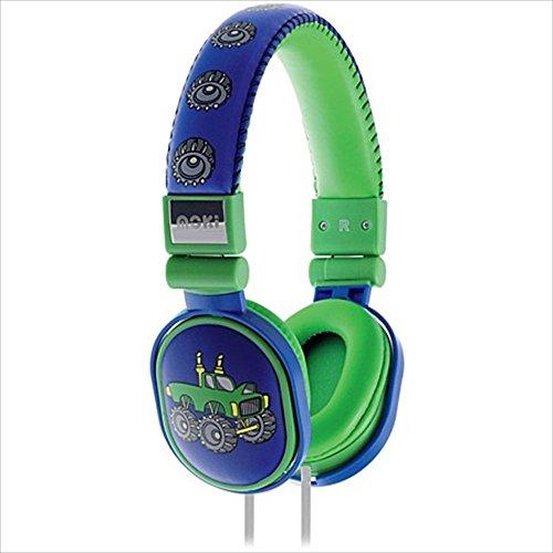 Moki International ACC HPPOP Popper Headphones, Monster Truck by Moki International